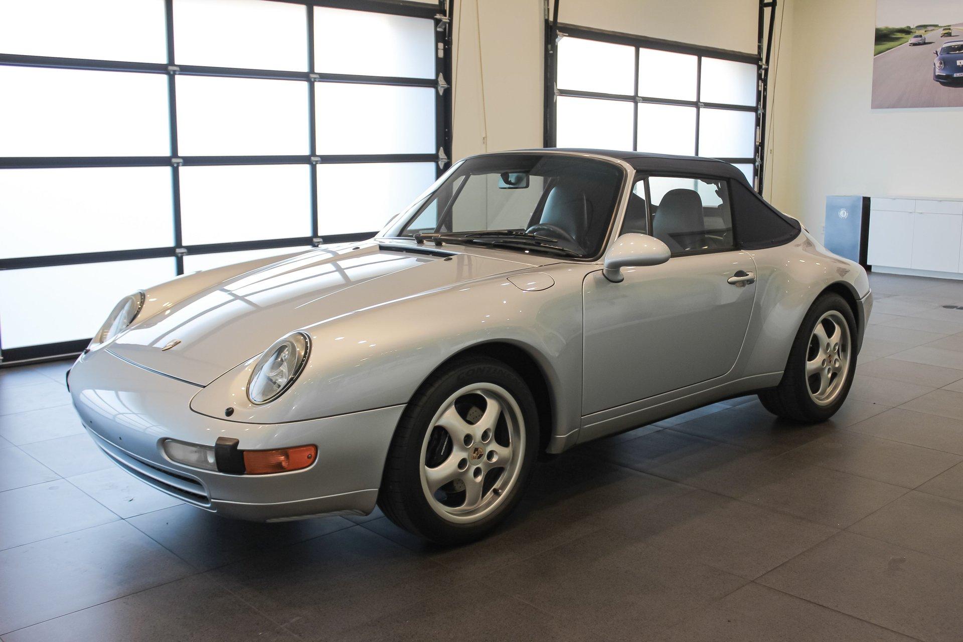 1995 Porsche 911 Carrera C2 Cab