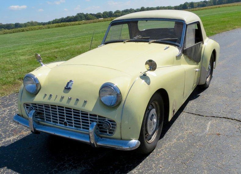 1959 Triumph TR3 For Sale