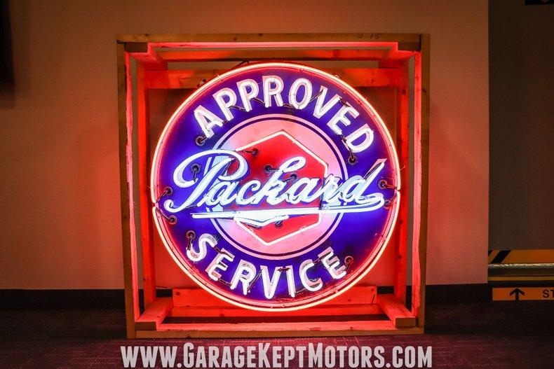 Packard Neon Sign