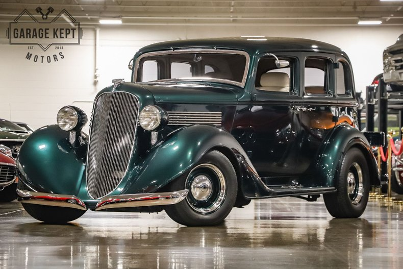 1936 Graham Crusader Series 80
