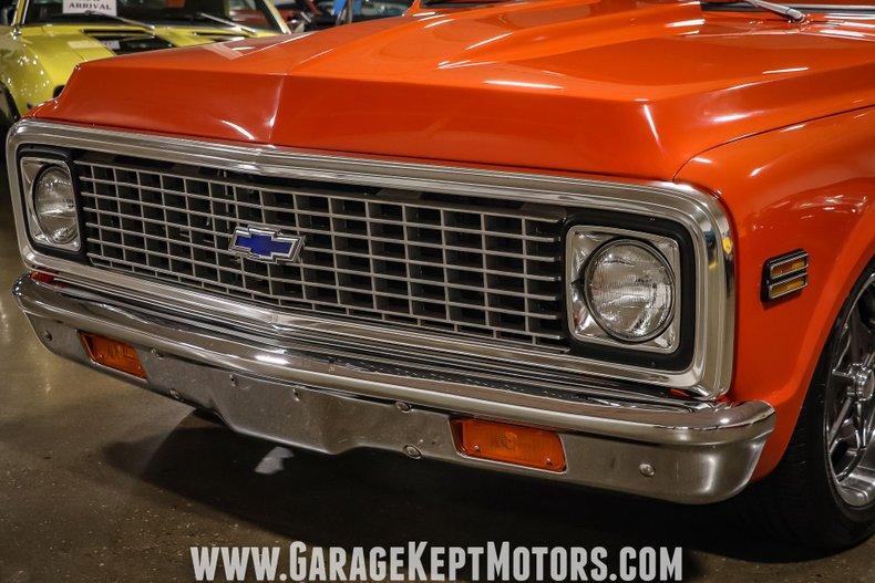 1972 Chevrolet C10 28