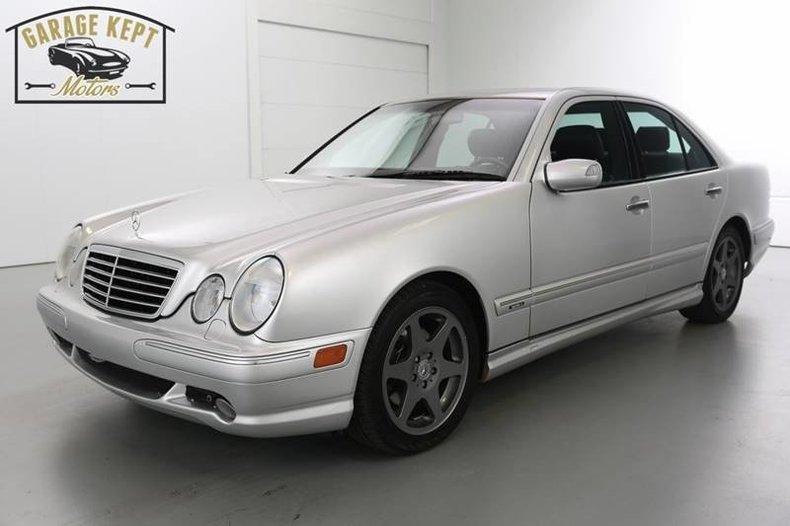 2000 Mercedes-Benz E-Class