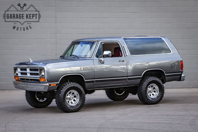1990 Dodge Ramcharger Aw 150 For Sale 216098 Motorious