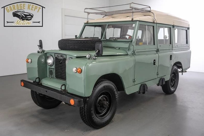 1966 Land Rover Dormobile