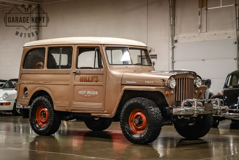 1950 Willys Overland Wagon