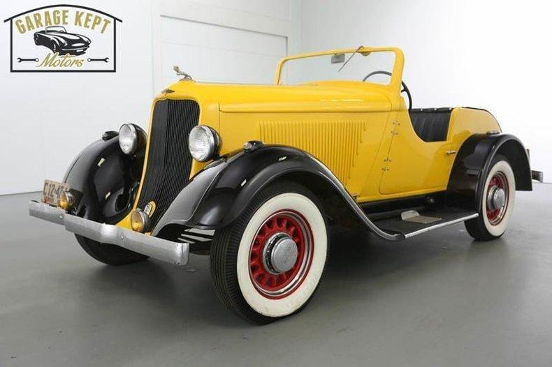 1933 Dodge Roadster