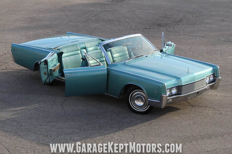 4 Door Convertible >> 1966 Lincoln Continental Garage Kept Motors