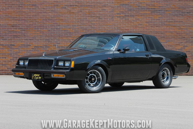 Buick Regal T Type >> 1984 Buick Regal T Type For Sale 81662 Mcg