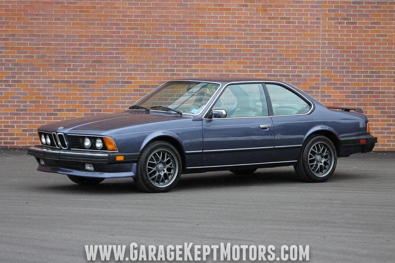 1985 BMW 635csi For Sale