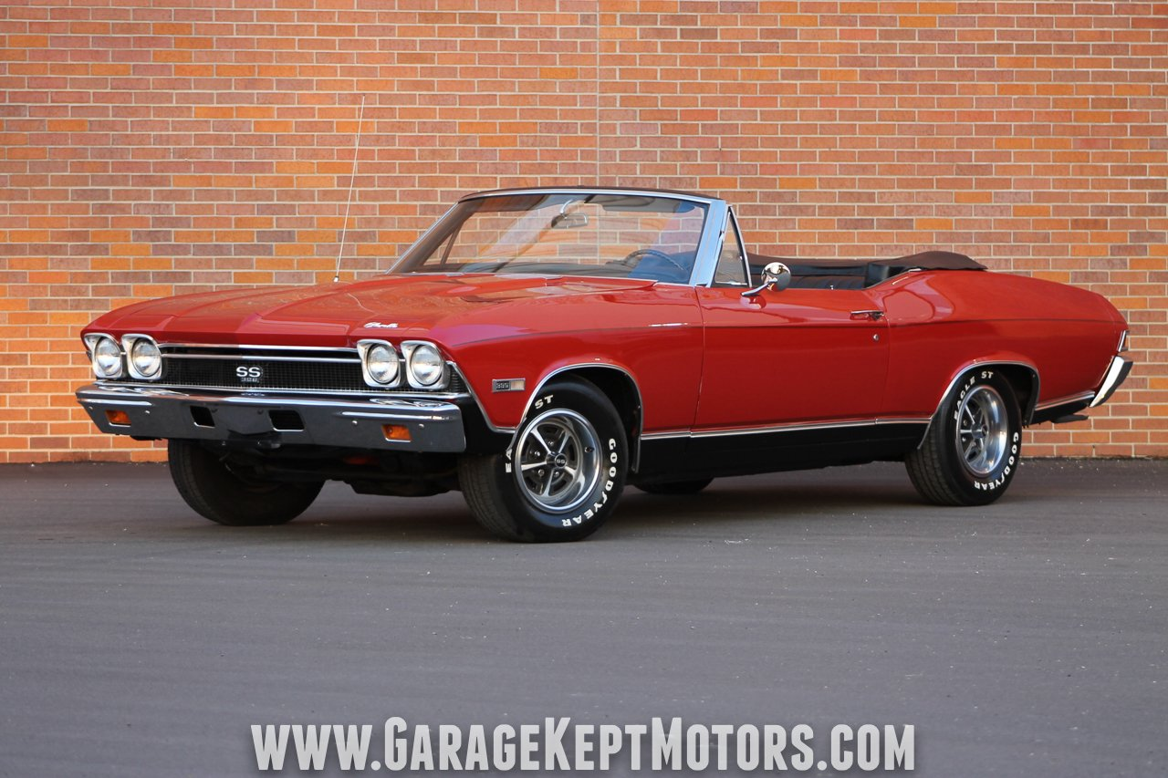 1968 Chevrolet Chevelle Ss 396 Convertible For Sale 85138 Mcg