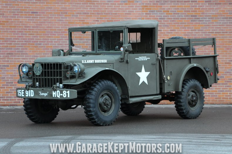 1953 Dodge M-37 For Sale