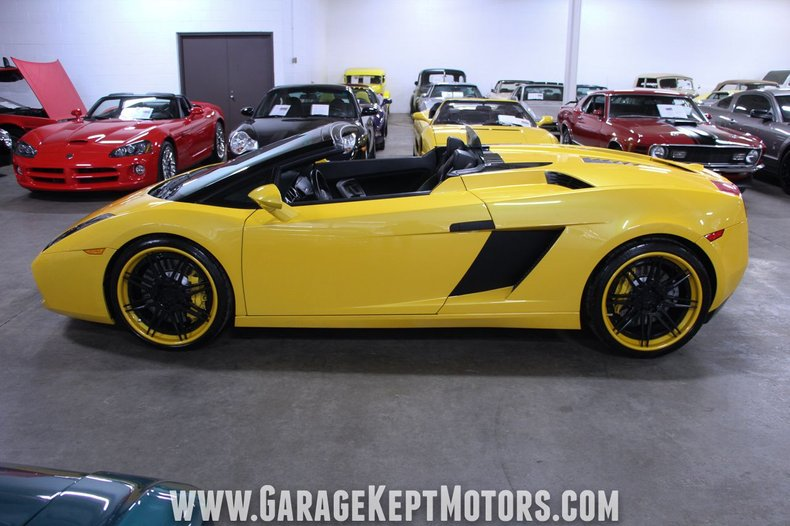 2008 Lamborghini Gallardo 45