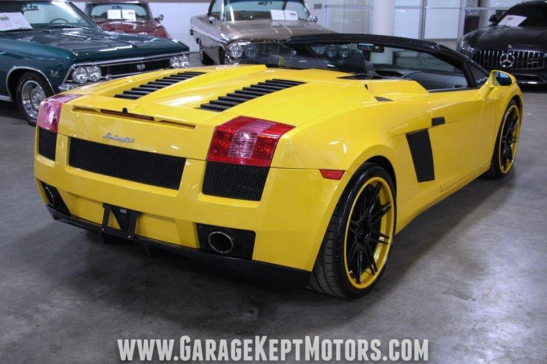 2008 Lamborghini Gallardo 50