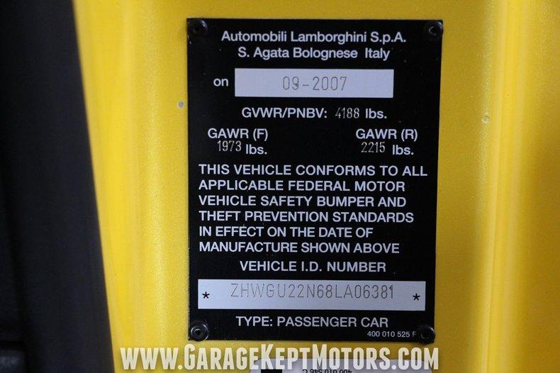 2008 Lamborghini Gallardo 123