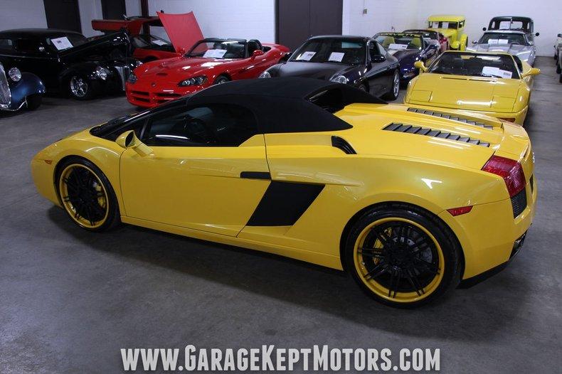 2008 Lamborghini Gallardo 138
