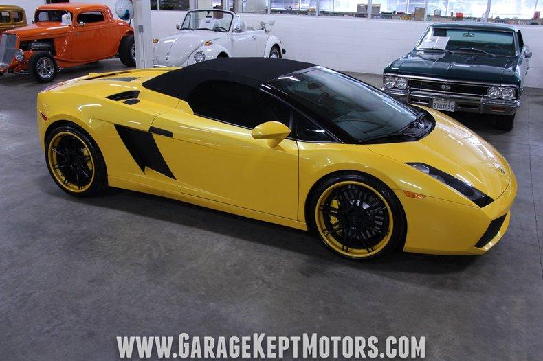 2008 Lamborghini Gallardo 143