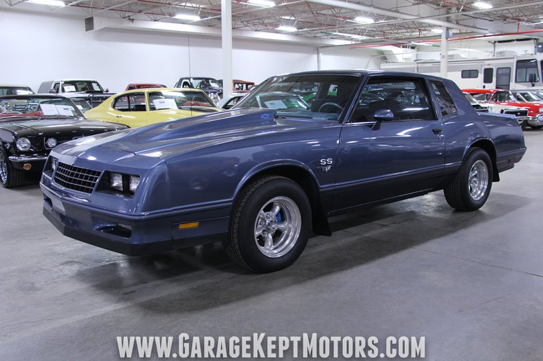 1984 chevrolet monte carlo garage kept motors 1984 chevrolet monte carlo garage