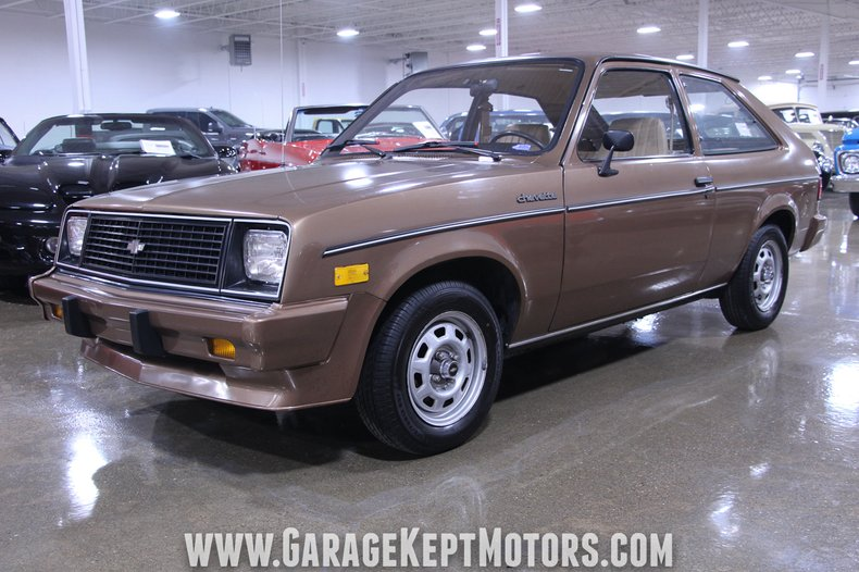 1987 chevrolet chevette garage kept motors 1987 chevrolet chevette garage kept