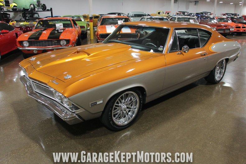 1968 Chevrolet Chevelle SS 8
