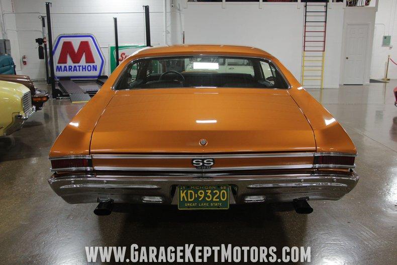 1968 Chevrolet Chevelle SS 11