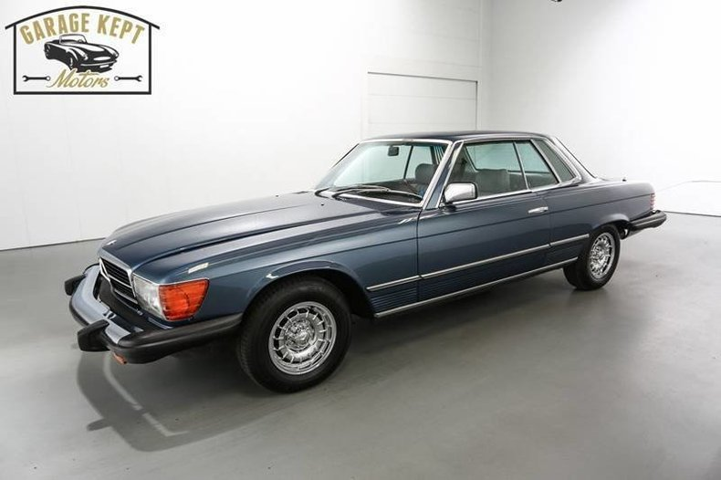 1980 Mercedes-Benz 450SLC For Sale