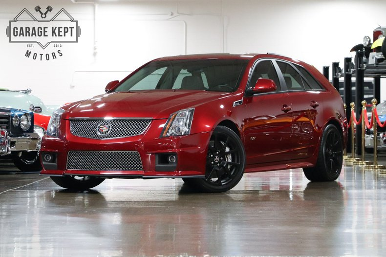 Cadillac Cts-V Wagon For Sale >> 2012 Cadillac Cts V Wagon For Sale 133670 Mcg