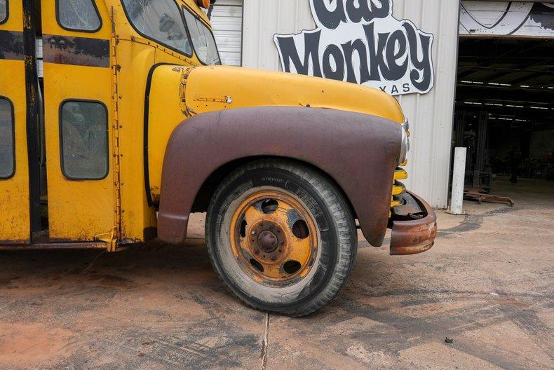 For Sale 1950 Chevrolet Short School Bus