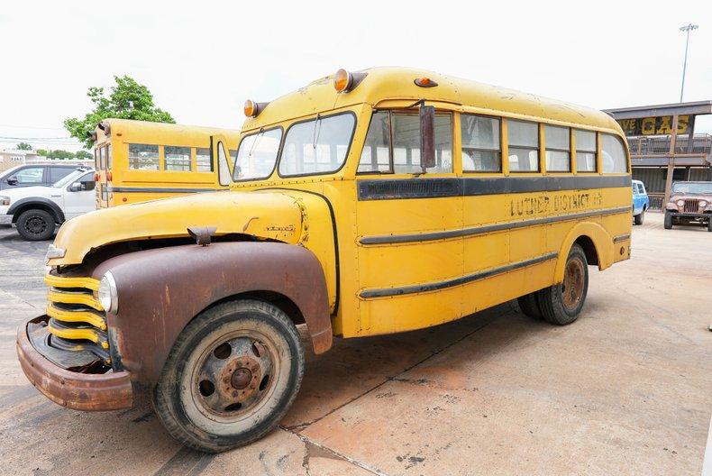 1950 Chevrolet Short School Bus