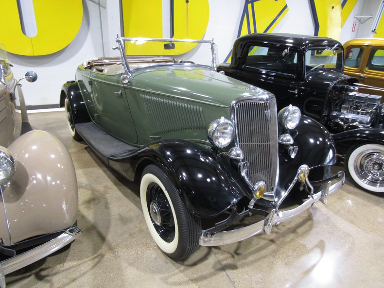 For Sale 1934 Ford Rumble Seat Roadster
