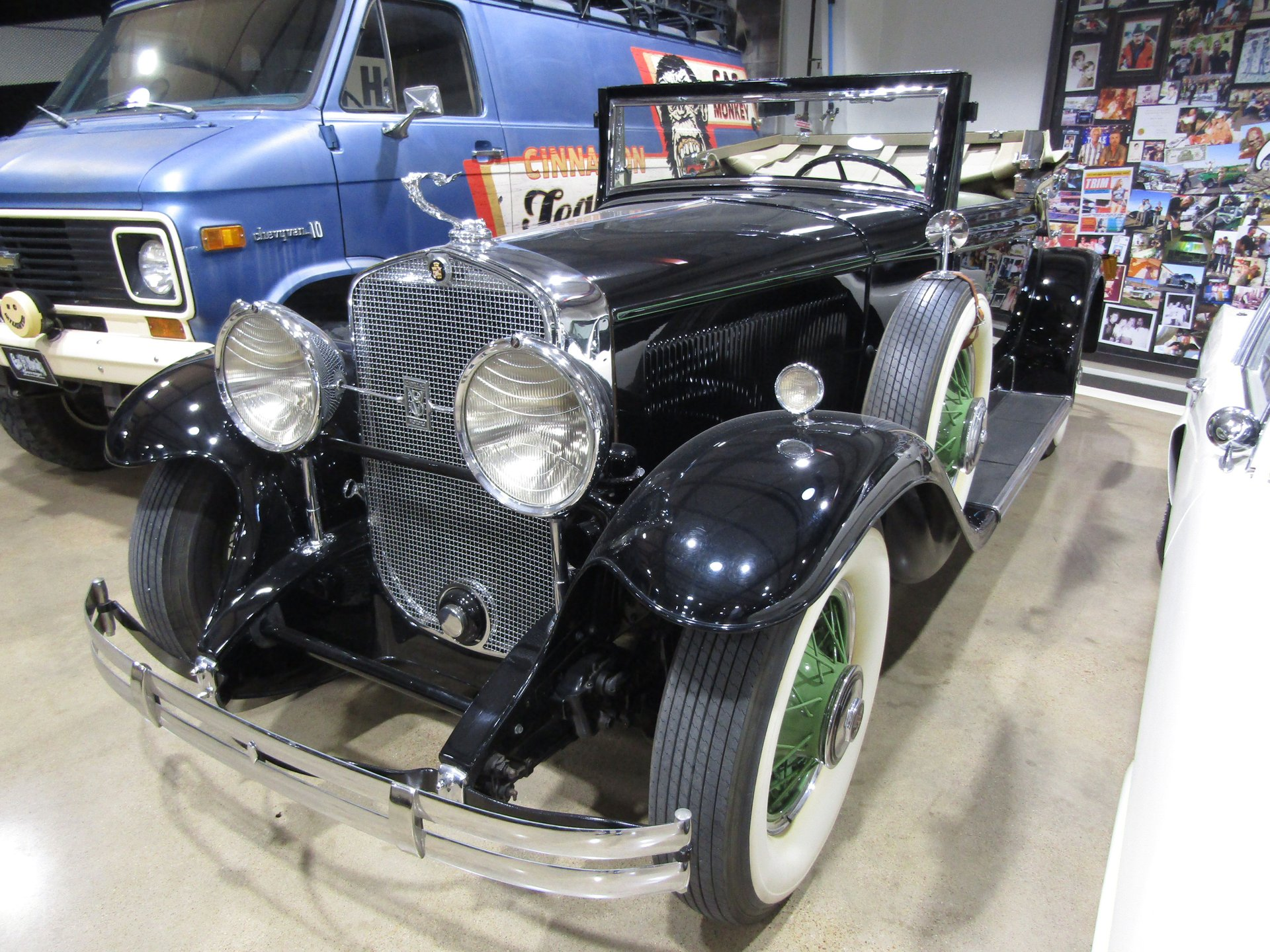 1930 cadillac series 353 rumble seat roadster