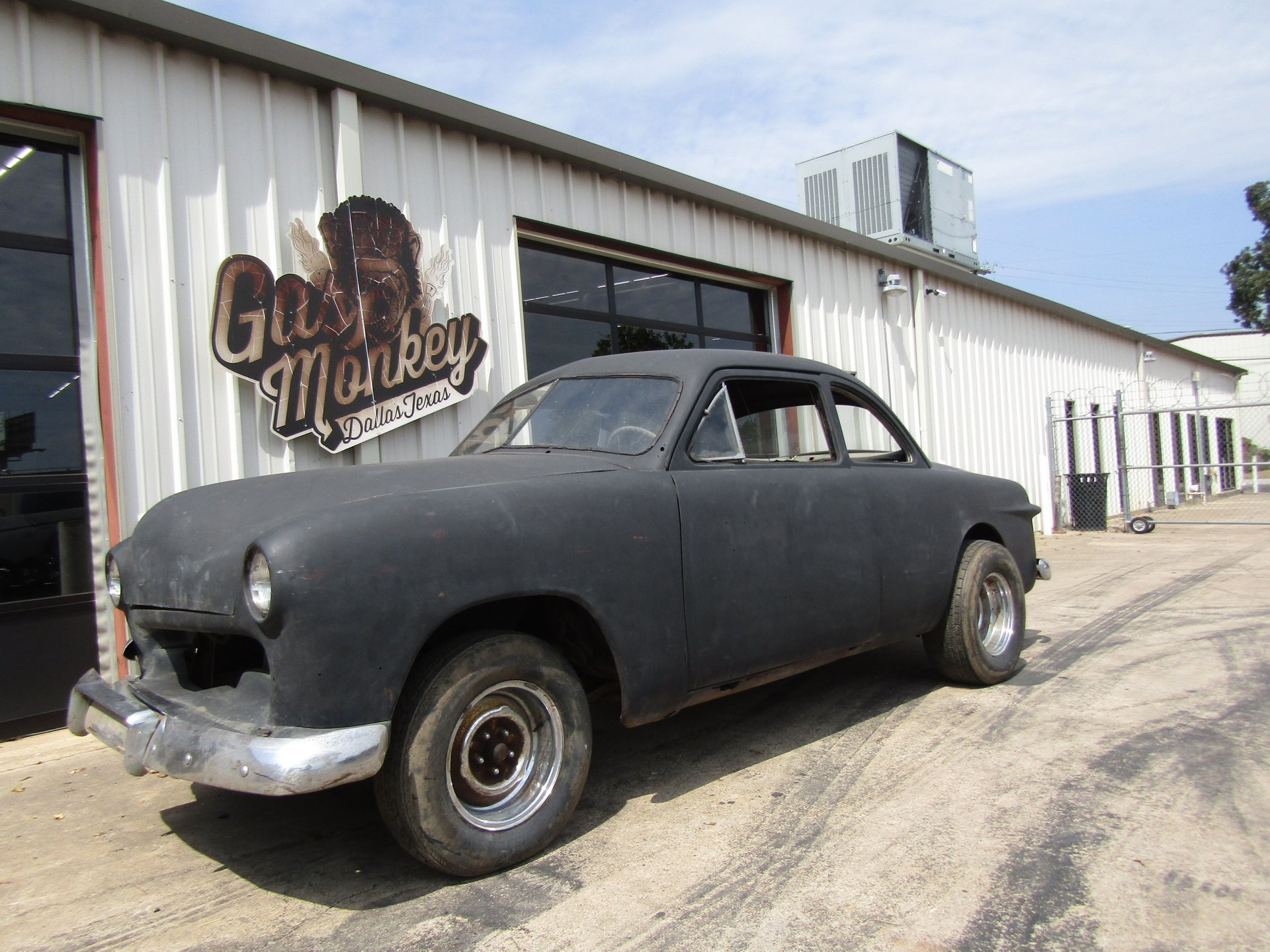 1949 ford custom club coupe shoebox project