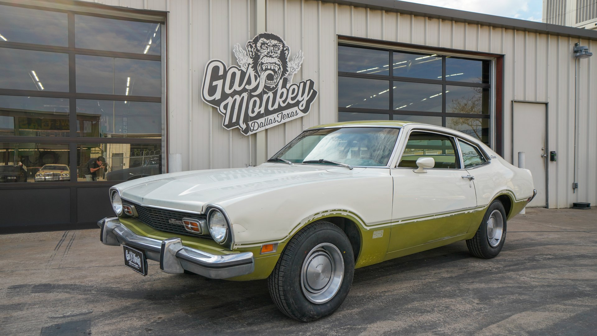 Ford Maverick For Sale >> 1973 Ford Maverick Gas Monkey Garage