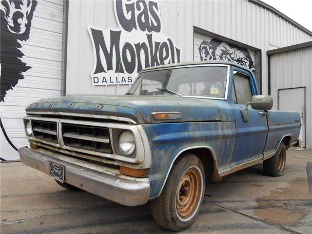 For Sale 1971 Ford F100