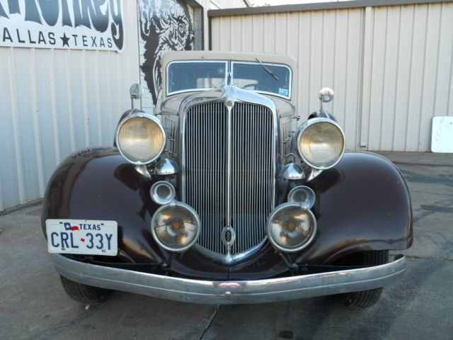 For Sale 1933 Chrysler Royal