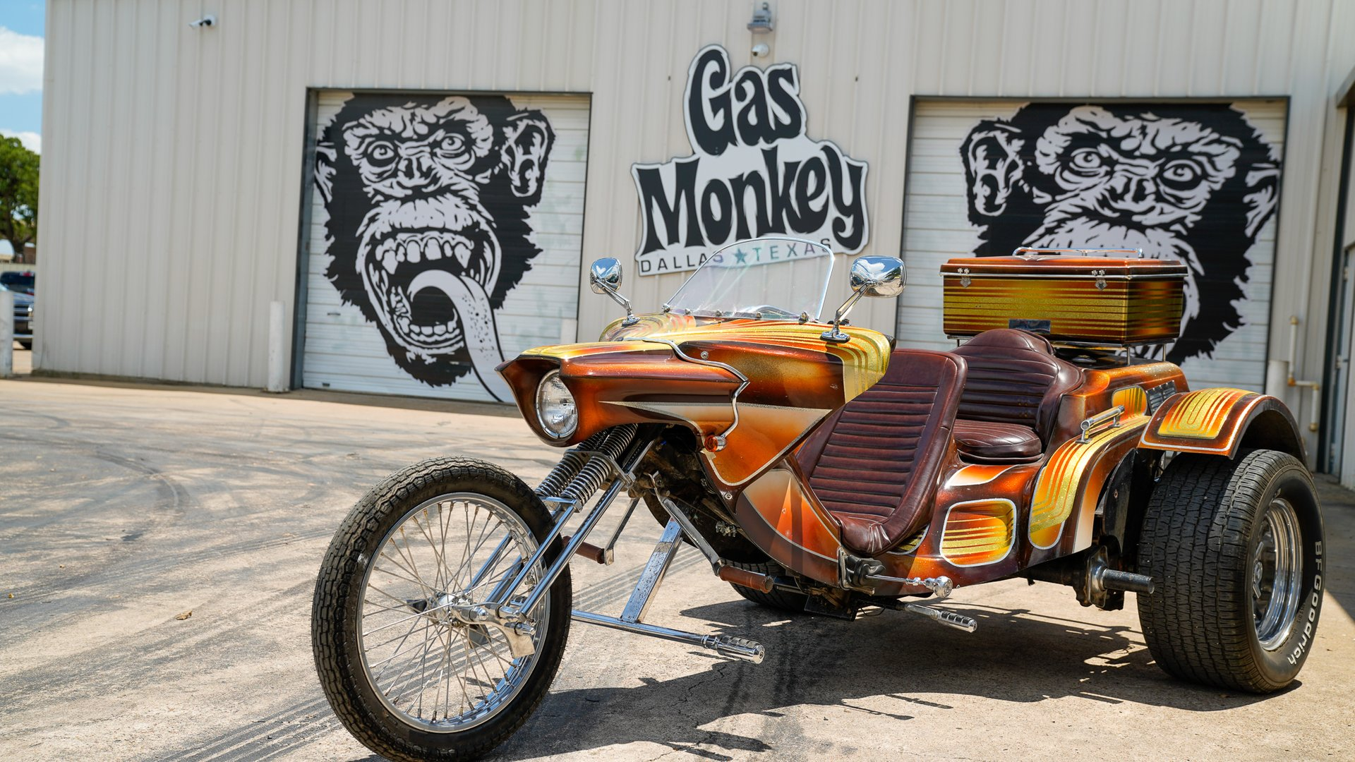 1980 volkswagen scorpion chopper trike