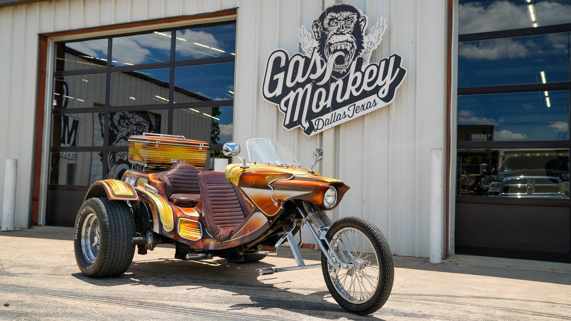 1980 Volkswagen Scorpion Chopper Trike Gas Monkey Garage