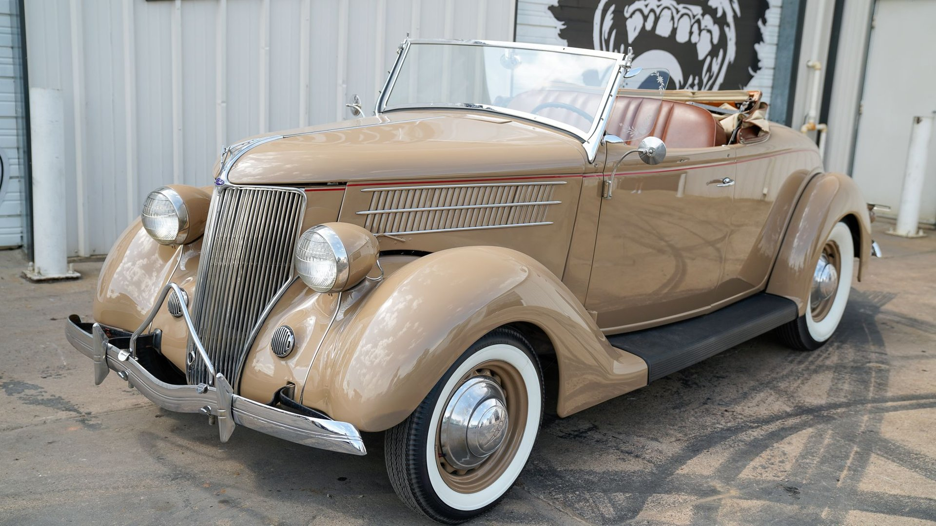1936 ford convertible rumble seat roadster