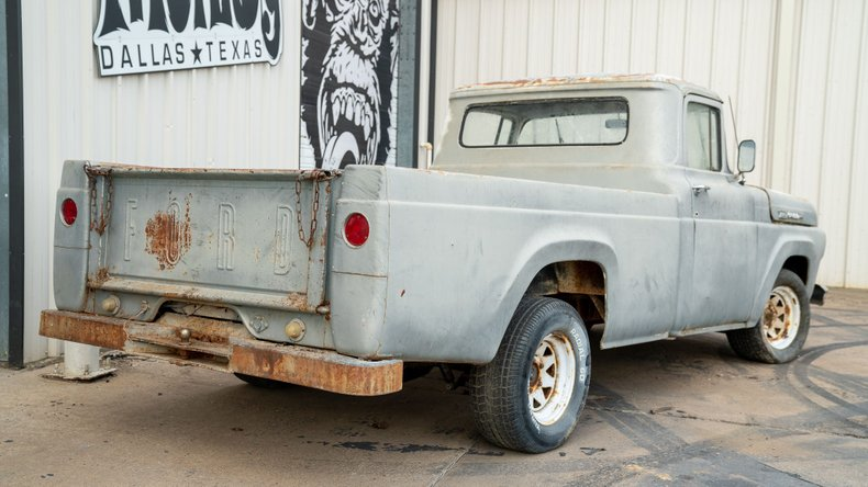 For Sale 1960 Ford F100