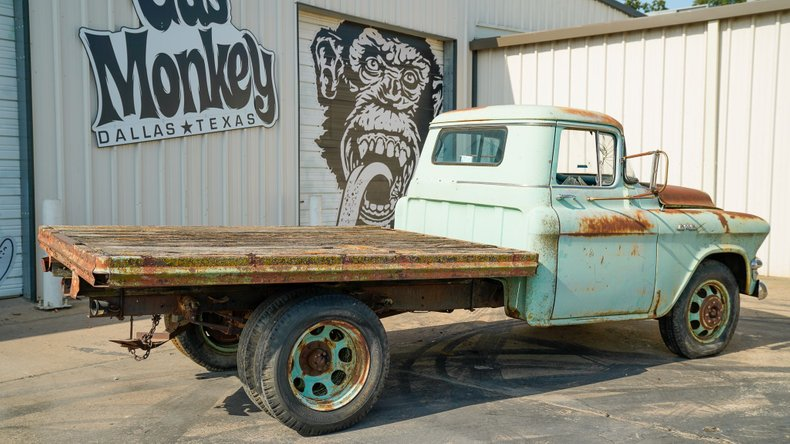 For Sale 1957 GMC 250 Flat bed