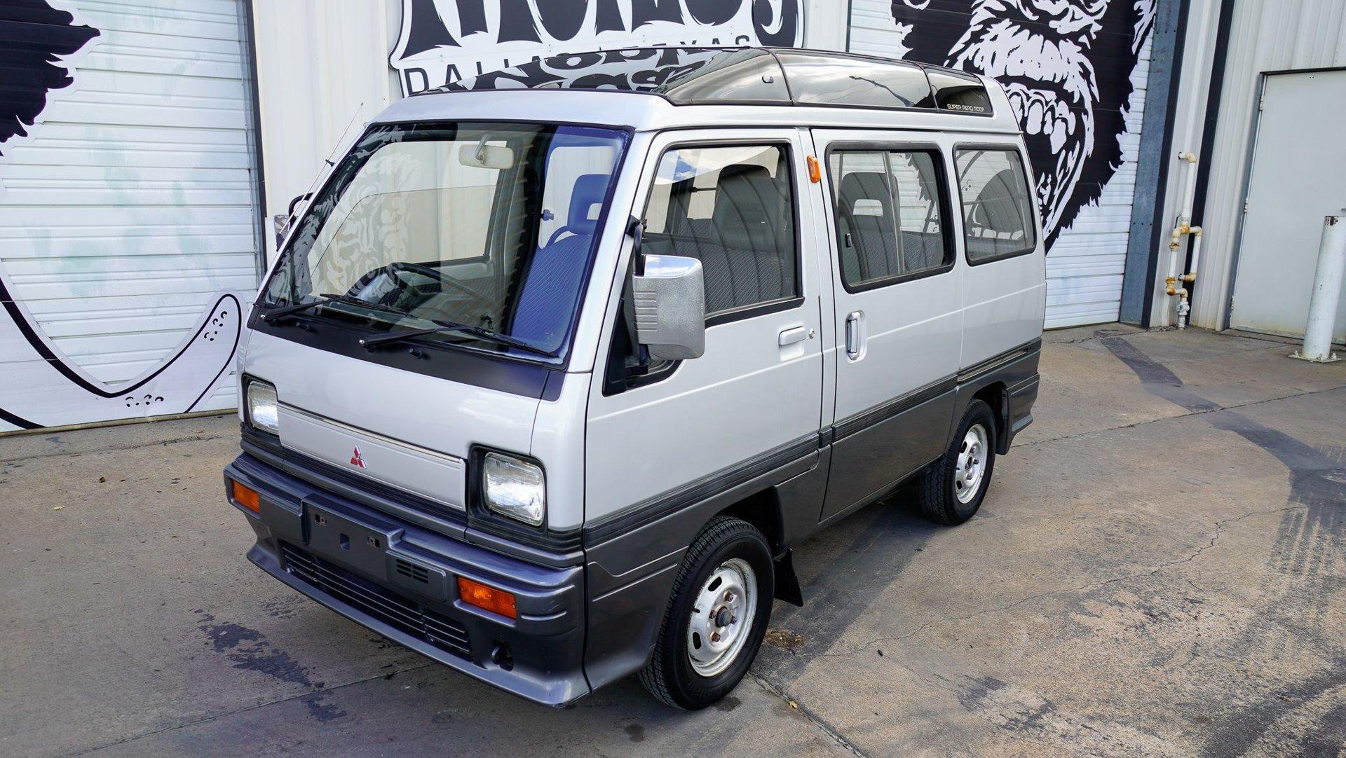 1990 mitsubishi u18 mini cab super aero micro van