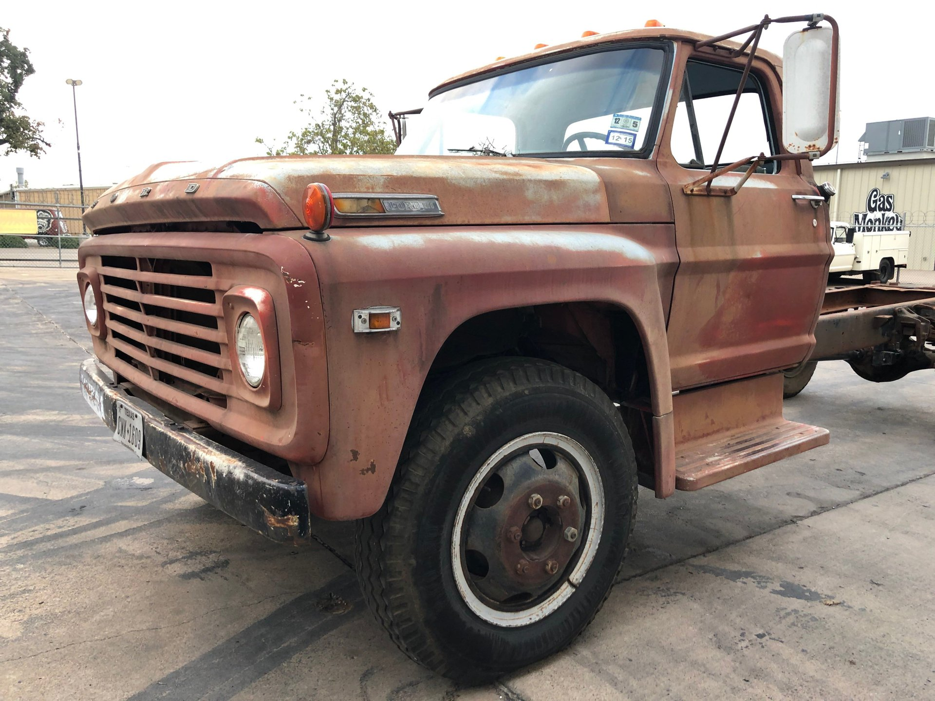 1969 Ford F600 Gas Monkey Garage