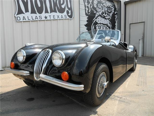 1952 jaguar xk120 roadster replica
