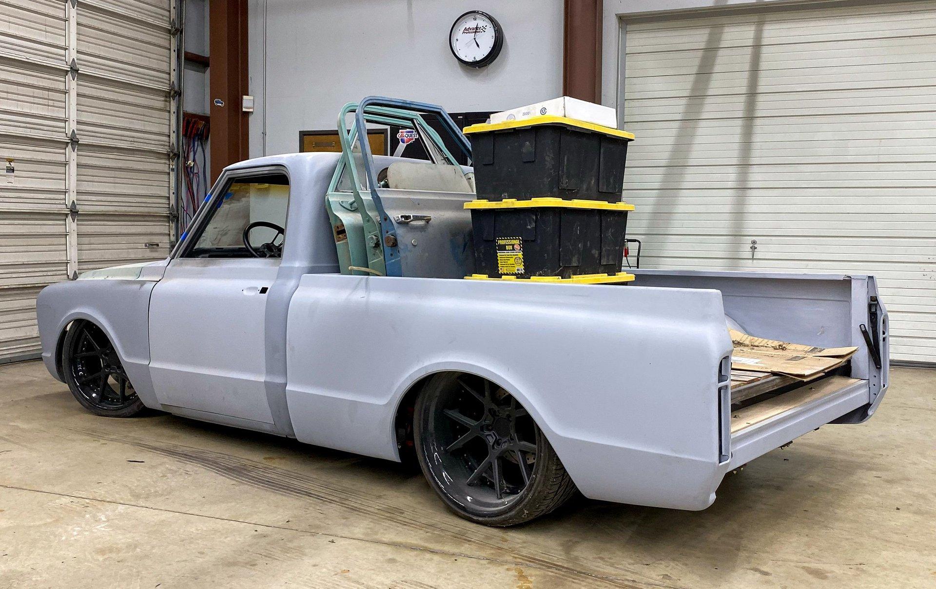 1967 chevrolet c10 parts bundle