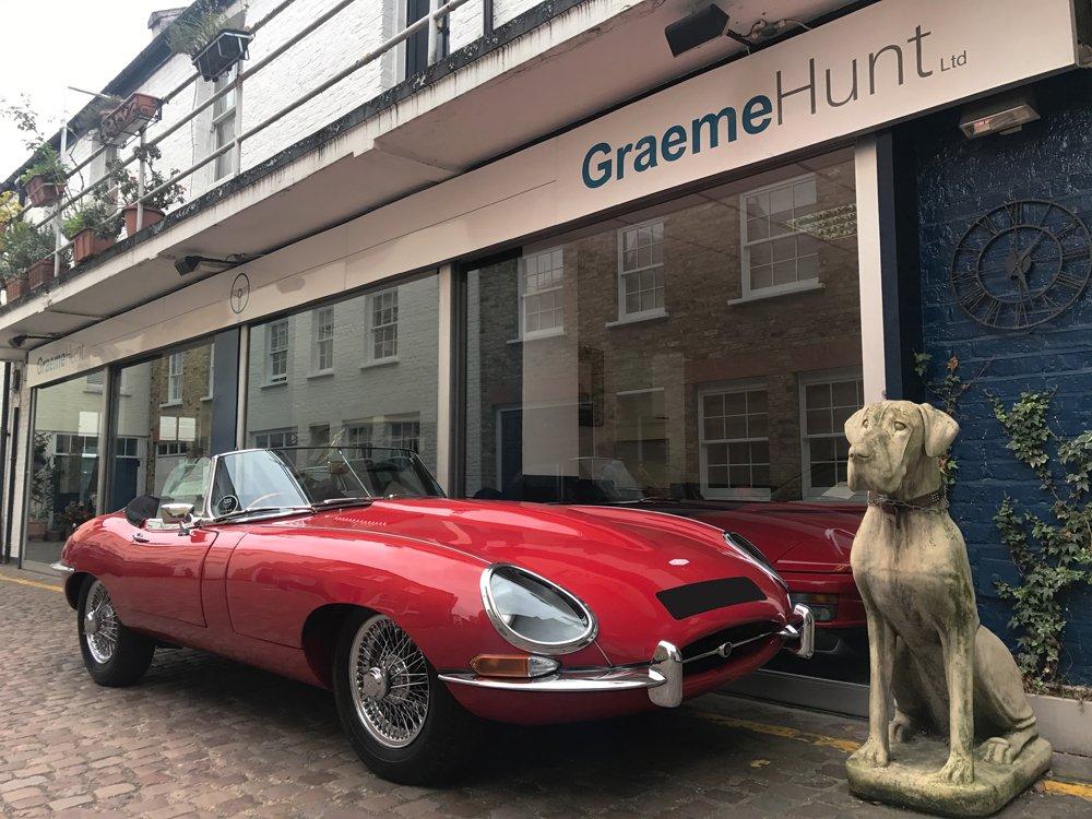 1967 jaguar e