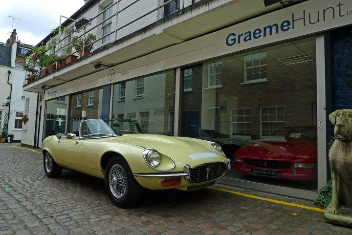 1972 jaguar e