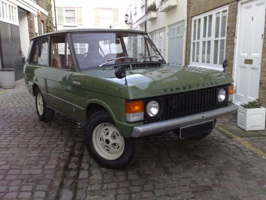 1972 range rover