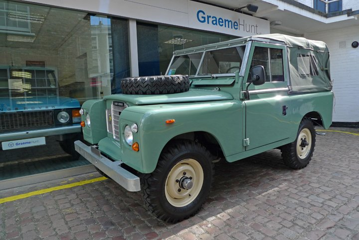 1979 land rover series