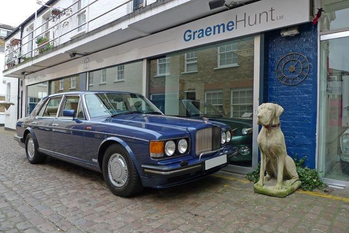 1993 model bentley