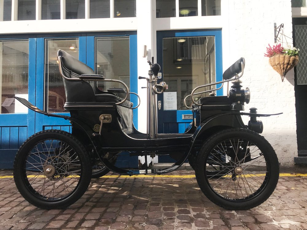 1901 de dion bouton type e vis a vis voiturette