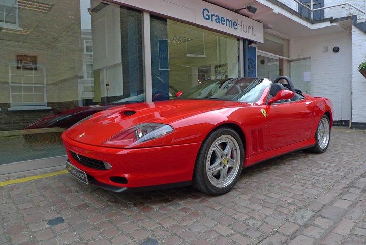 2002 ferrari 550